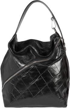 Proenza Schouler Asymmetrical Zip Embossed Hobo Bag