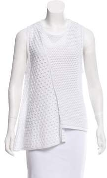 Timo Weiland Asymmetrical Knit Top
