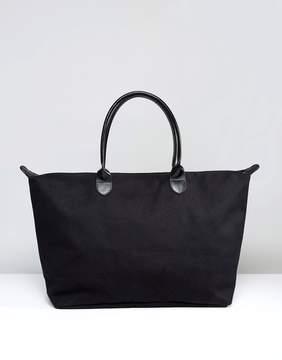 Mi-Pac Canvas Weekender Bag in Black