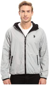 U.S. Polo Assn. Reversible Shell Fleece Hoodie Men's Sweatshirt