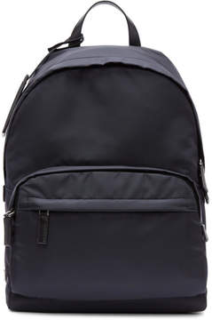 Prada Navy Mountain Fabric Backpack