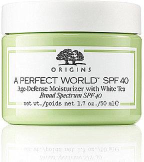 Origins A Perfect WorldTM SPF 40 Age-Defense Moisturizer with White Tea