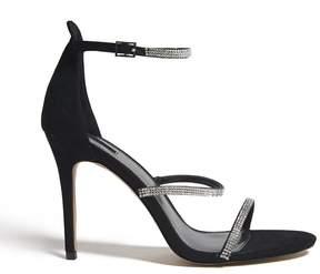 Forever 21 Rhinestone Strappy Heels