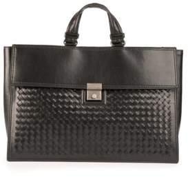 Bottega Veneta Nero Leather Handbag