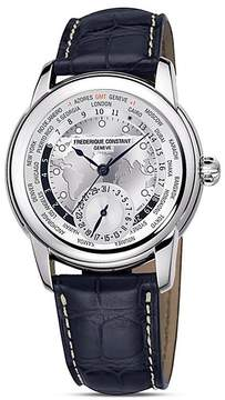 Frederique Constant Manufacture World Timer Watch, 42mm