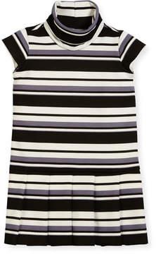 Helena Striped Knit Dress, Size 7-14