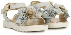 Roberto Cavalli floral sandals