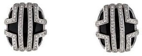 Di Modolo 18K Onyx & Diamond Cage Earrings