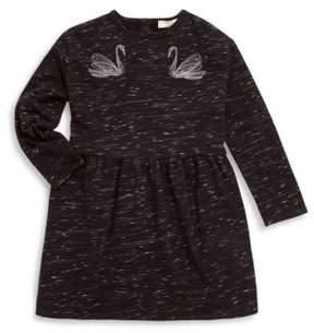 Stella McCartney Toddler's, Little Girl's & Girl's Swan Embroidery Dress