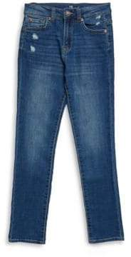 7 For All Mankind Boy's Paxtyn Distressed Jeans