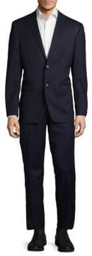 Lauren Ralph Lauren Slim Fit Solid Wool Suit