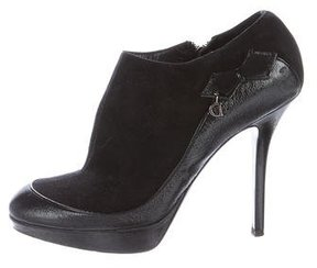 Christian Dior Deco Bow-Accented Booties