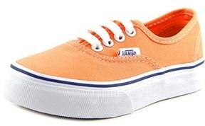 Vans Authentic Round Toe Canvas Sneakers.
