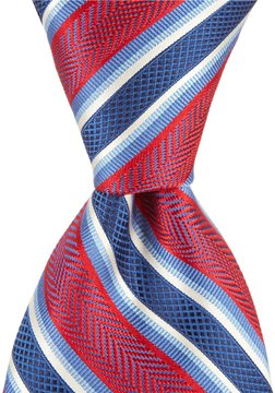 Daniel Cremieux All In Stripe Traditional Silk Tie