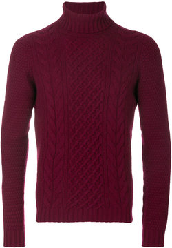Drumohr arran knit jumper