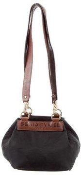 Sonia Rykiel Mini Leather-Trimmed Bag