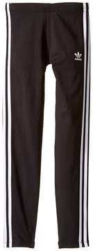 adidas Kids Everyday Iconics 3-Stripes Leggings Girl's Casual Pants