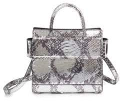 Givenchy Horizon Laminated Python Mini Tote