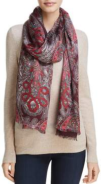 Echo Paisley Jewel Tubular Wrap Scarf