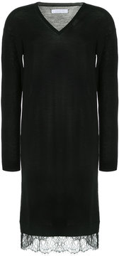 ESTNATION v-neck sweater dress