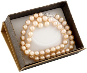 Bella Pearl Natural Pink Freshwater Pearl Boxed Jewelry Set SET-A