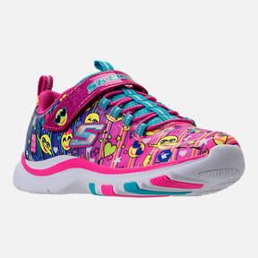 Skechers Girls' Preschool Trainer Lite - Happy Dancer Running Shoes
