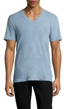 James Perse Combed Cotton V-Neck Tee