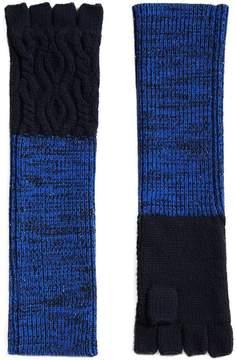Burberry fingerless gloves