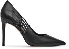 Reiss Honor Strap-Detail Court Shoes