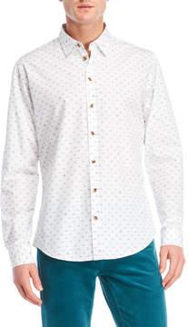 Moods of Norway Printed Slim Fit Shirt