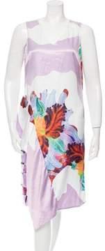 Clover Canyon Printed Satin Dress