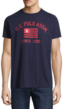 U.S. Polo Assn. USPA Short Sleeve Logo Graphic T-Shirt