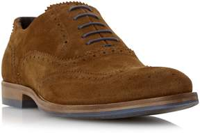 Dune London BUDLEIGH - TAN Color Pop Lace Suede Brogue