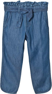 Mini A Ture Noa Noa Miniature Blue Belted Denim Trousers