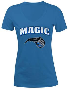 5th & Ocean Women's Orlando Magic Mesh Logo T-Shirt
