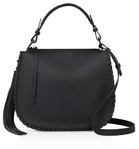 AllSaints Mori Leather Hobo
