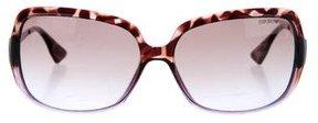 Emporio Armani Gradient Rectangular Sunglasses