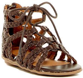 Kenneth Cole New York Bright Braids Gladiator Sandal (Toddler)