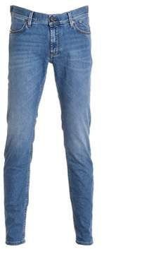 Jeckerson Men's Blue Cotton Jeans.