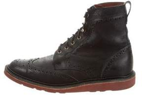 Allen Edmonds Leather Carson City Boots