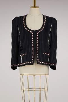 Etoile Isabel Marant Linen Jilo jacket