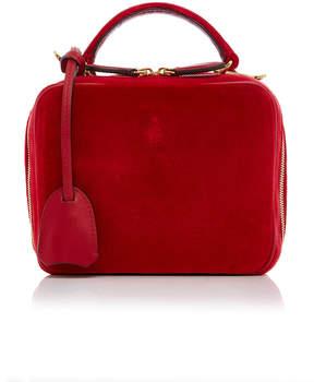 Mark Cross Baby Laura Velvet Bag
