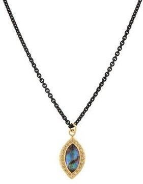 Armenta Doublet & Diamond Pendant Necklace
