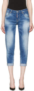 DSQUARED2 Blue Hockney Jeans