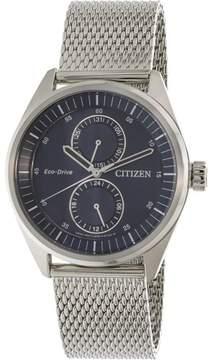 Citizen Metropolitan BU3011-83L Silver Stainless-Steel Japanese Quartz Fashion Watch