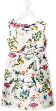Oscar de la Renta Kids Nature print dress