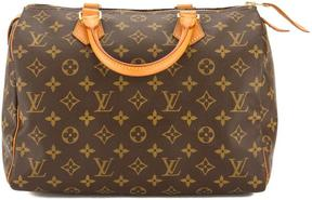 Louis Vuitton Monogram Canvas Speedy 30 Bag - BROWN - STYLE