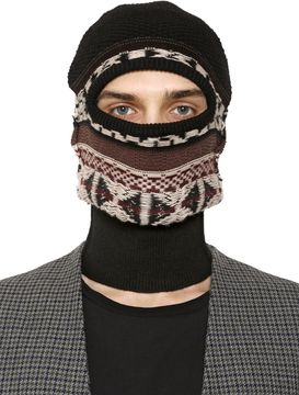 Maison Margiela Reverse Wool & Cotton Jacquard Ski Mask
