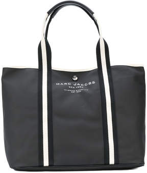 Marc Jacobs logo tote - BLACK - STYLE