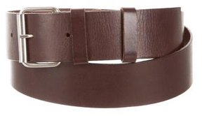 Philosophy di Alberta Ferretti Leather Buckle Belt